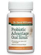 Dr. David Williams Probiotic Advantage Oral Sinus Review