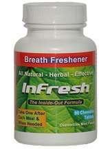 Infresh Natural Bad Breath Cure Review