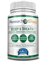 Research Verified Body & Breath Natural Deodorant Freshener Revieww